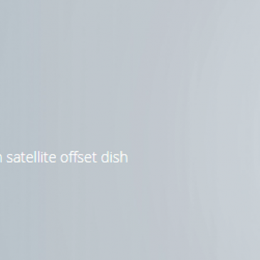 The LDF 5GHz long distance dish antennas