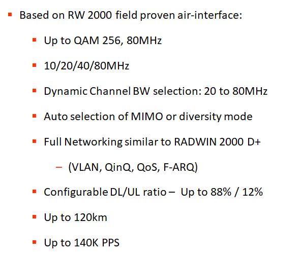 RADWIN 2000 Alpha