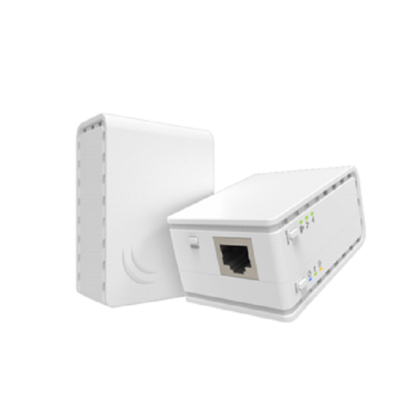Mikrotik PL7411-2nD PWR-Line Powerline Small Access Point - 4Netonline