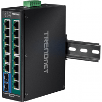 Switch DIN-Rail PoE