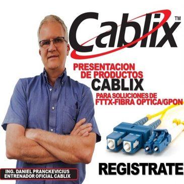 Webinar Fibra Optica Cablix