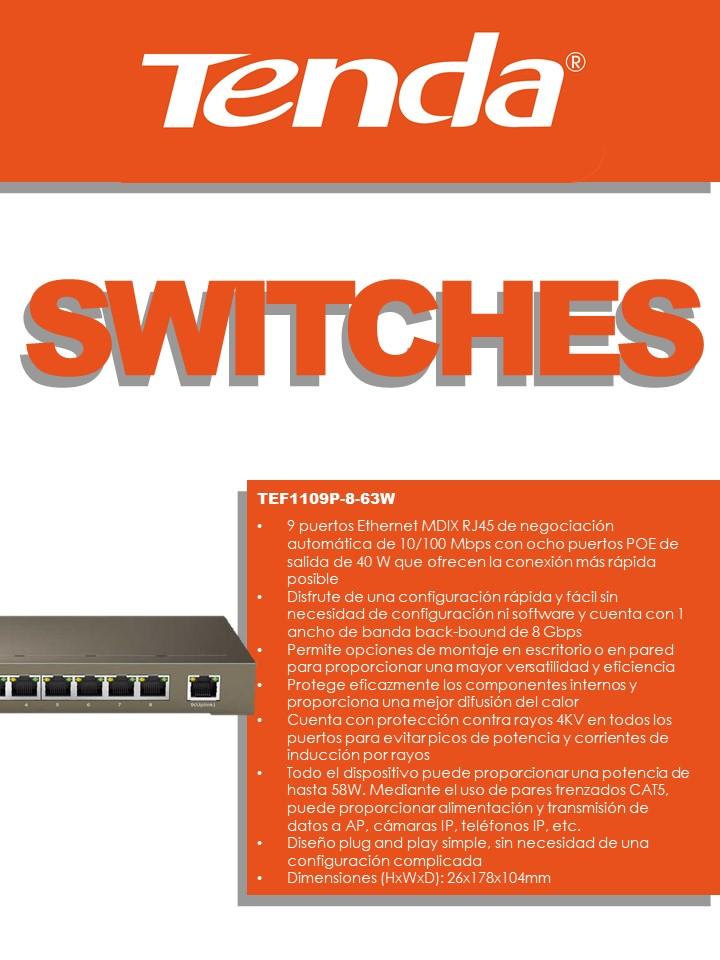 Switches Tenda