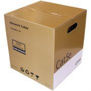 MCBEFU-01 - Cat5e 24AWG F/UTP 4Pair Solid Cable- Outdoor UV CMX- Black Color