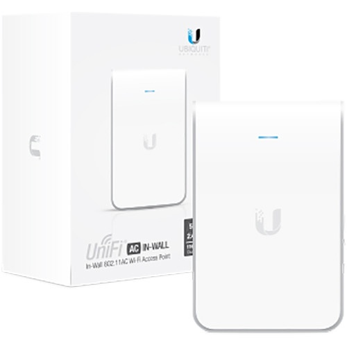Unifi Ac In Wall Pro Ap Transforms An Ethernet Wall Connection