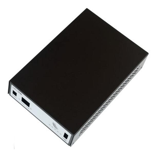 Black aluminium indoor case