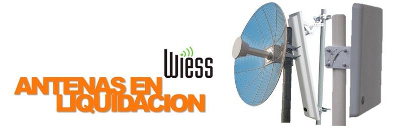 Antenas WEISS en Liquidación