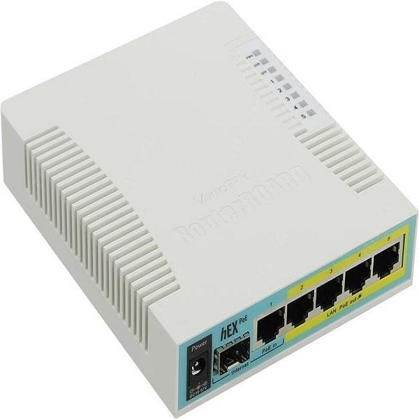 5x Gigabit Ethernet