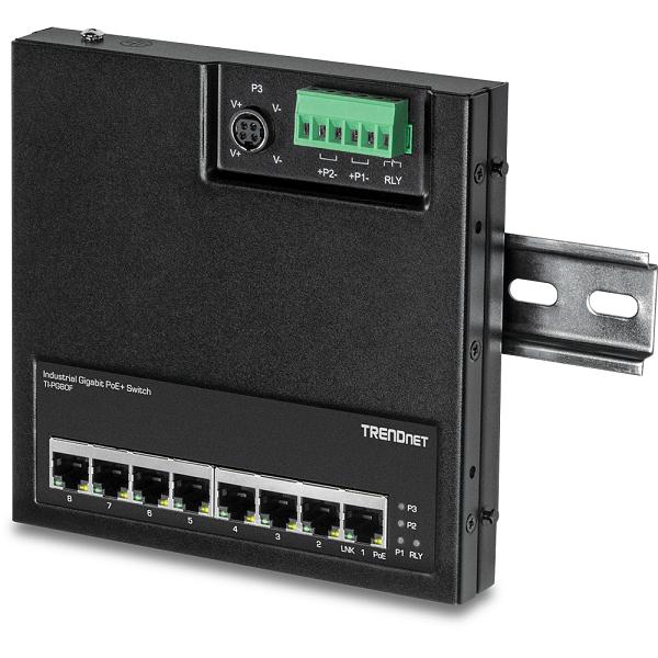 Switch industrial Gigabit PoE