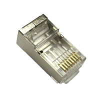 Connector Shielded Cat5E Connector Male shielded CAT7