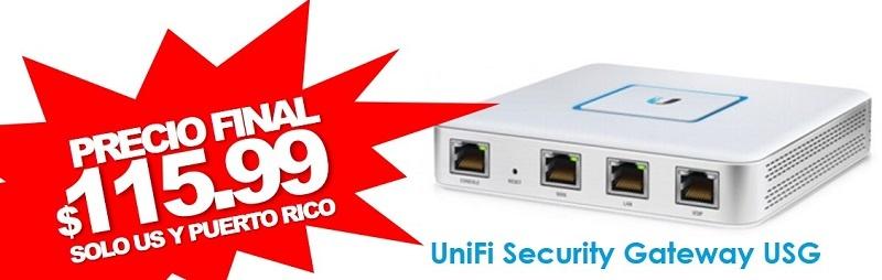UniFi Security Gateway USG